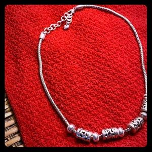 Brighton 18in silver charm necklace